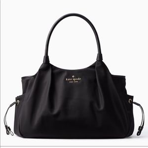 Kate Spade ♠️ Black diaper bag